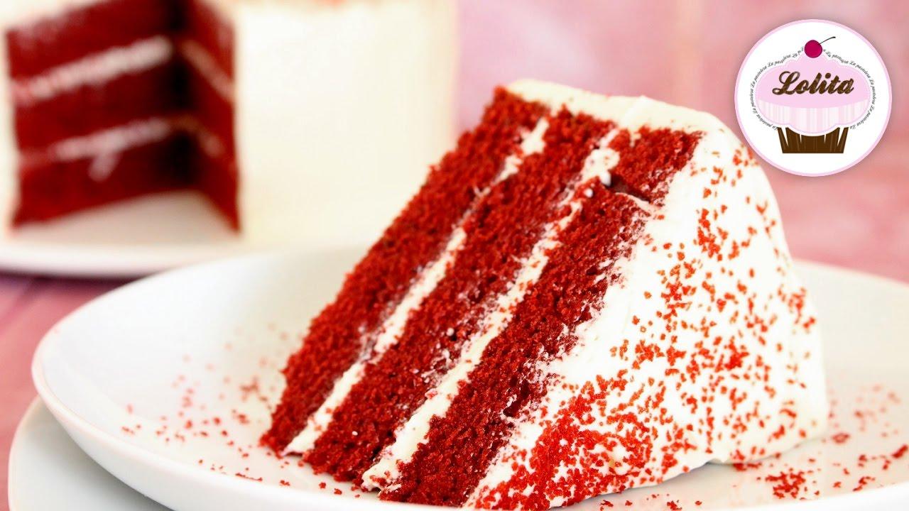 Receta De Tarta Red Velvet Layer Cake Tarta De Chocolate Pastel