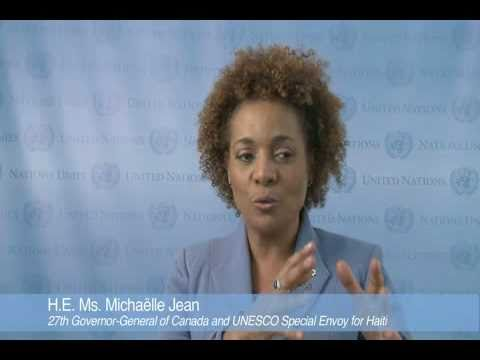 Education for All: Michaelle Jean, UNESCO