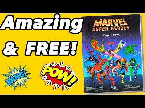 Marvel Superhero RPG