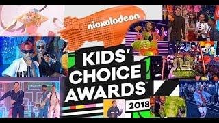 Ganadores  Kids'  Choice Awards 2018 Lista Completa / winners Kids' Choice Awards 2018| Mas D Tiaris