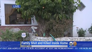 Father, Teen Stepdaughter Shot, Killed In Compton; Mother Wounded