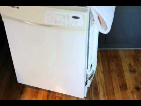 bruit lave vaisselle whirlpool youtube. Black Bedroom Furniture Sets. Home Design Ideas