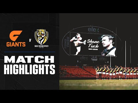 GWS Giants v Richmond Highlights | Round 8 2020 | AFL – AFL