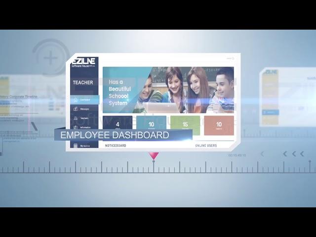 Eziline: School Management System