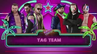 Now Wrestling 18 - 6-Man Tag Match - FBI v Electric Dream Machine