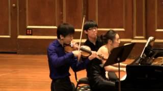 """Angelo Xiang Yu and Mei Rui - Beethoven """"Kreutzer"""" Violin Sonata III. Finale (Presto)"""
