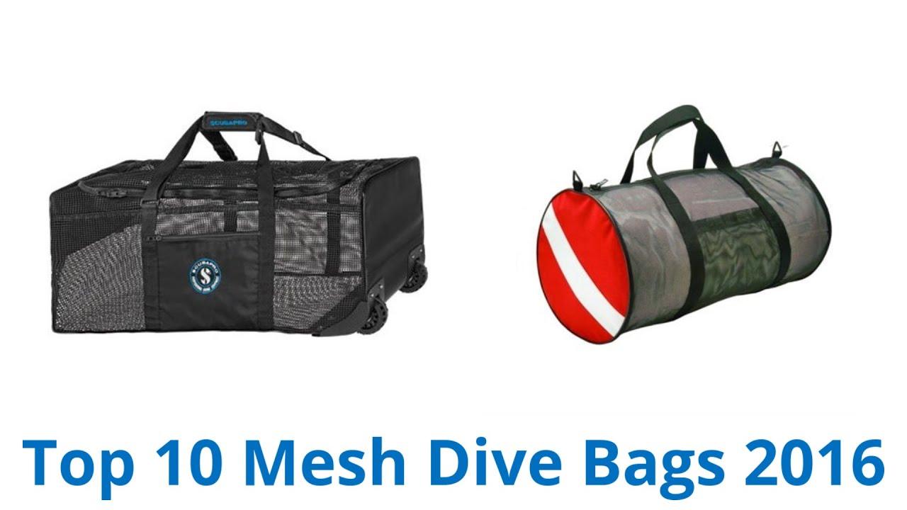 f143b106f0 10 Best Mesh Dive Bags 2016 - YouTube