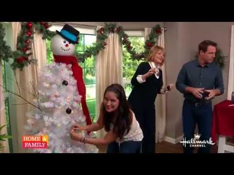 Tanya Memme DIY: How to make a Snowman Tree!