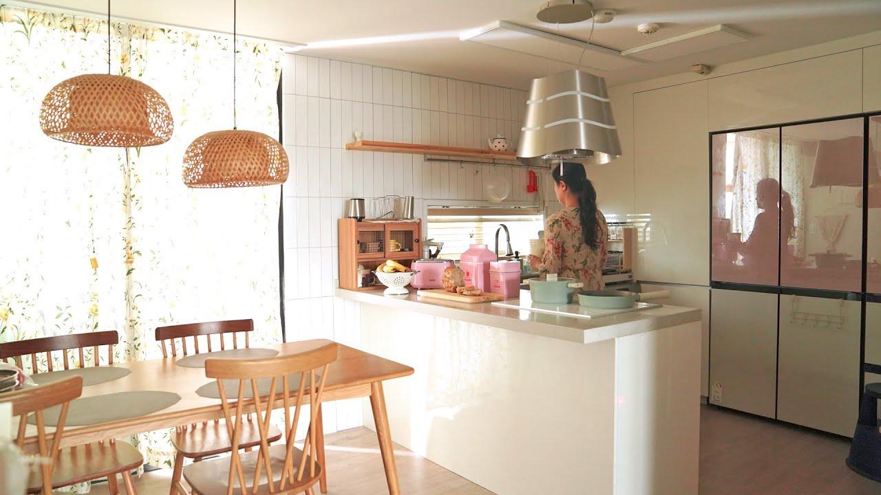 추천하고 싶은 주방도구의 세계 | 홈메이드 요거트 라따뚜이 파스타🍝핑크 토스터기 Useful Kitchenware \u0026home appliances for easy cooking