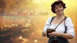 Mittelalter-Kostüm: Die Magd inklusive Haube