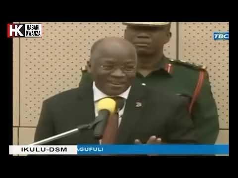 KIMENUKA: Maamuzi Ya Magufuli Kwa IGP Sirro Leo Hii IKULU