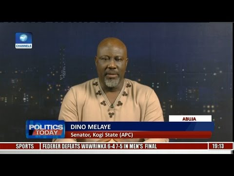 Magu Cannot Be Re-presented To The Senate - Dino Melaye Pt 1