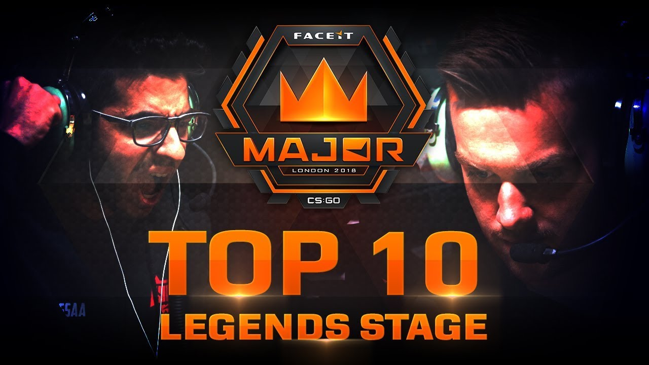 TOP 10 Plays of Legends Stage (FACEIT Major: London 2018) Videosu