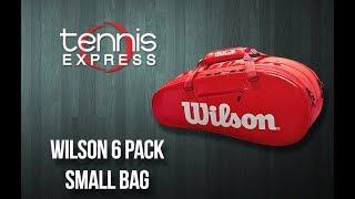 Wilson Super Tour 2 Compartment Small Tennis Bag | Tennis Express