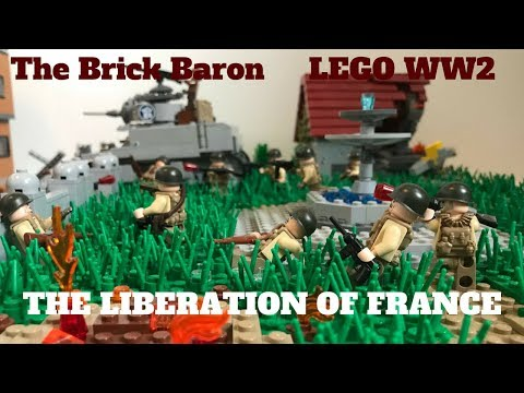 LEGO WW2: THE LIBERATION OF FRANCE MOC | The Brick Baron