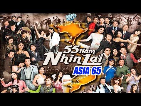 ASIA 65 Fullshow | 55 Năm Nhìn Lại |  Live Show Nhạc Lính, Nhạc Trữ Tình, Nhạc Vàng, Bolero Bất Hủ