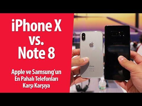 Download Youtube: iPhone X vs. Galaxy Note 8: Devler karşı karşıya