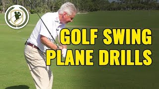 HOW TO FIX YOUR GOLF SWING PLANE - GOLF BACKSWING TAKEAWAY DRILLS!