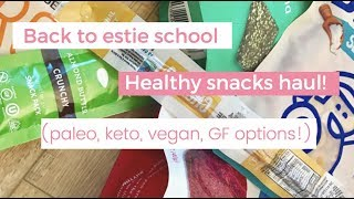 Healthy Back to Estie School Snacks (Paleo/ GF)