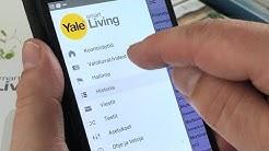 Yale hälytysjärjestelmä ja mobiilikäyttö