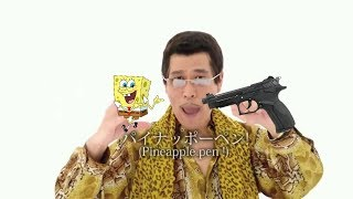 "PPAP But Everytime He Says ""UH"" Or ""PPAP"" Spongebob Dies"
