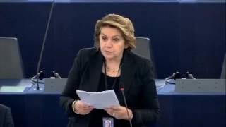 Intervento in aula di Caterina Chinnici sul meccanismo UE in materia di democrazia, Stato di diritto e diritti fondamentali
