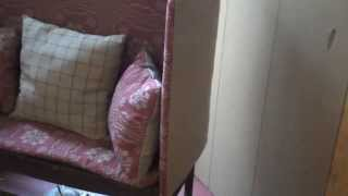 Primitive Country Make-do Sofa By Primitiques, Ltd.