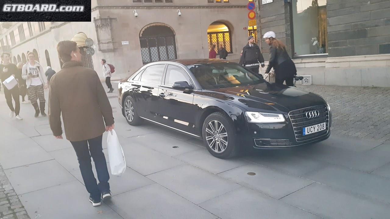 K Swedens SOCIALISTIC Prime Minister Löfven Travels In Audi AL - Prime audi