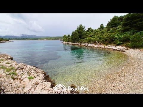 beach Adam, Rudina, island Hvar, Croatia
