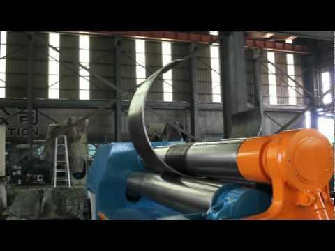 LEMAS 3-Roll Plate Bending Rolls