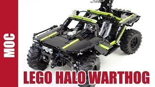 Lego Technic Halo Warthog
