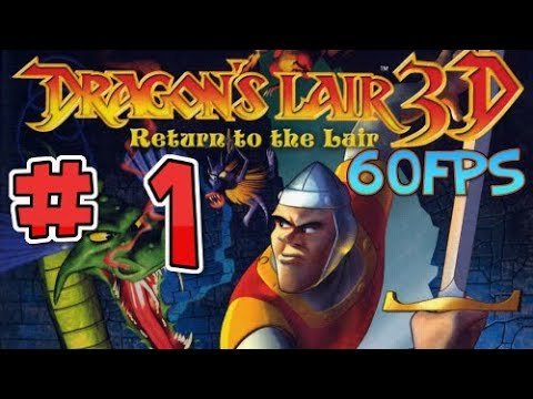 DRAGONS LAIR 3D - Hilarious Playthrough - A THICC DAMSEL [#1] HD (60FPS)