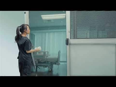 STANLEY ProCare 8300 Automatic ICU Door