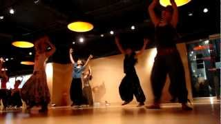 Indian Fusion-Jiya Jale choreography by master Parveen 11/03/2012