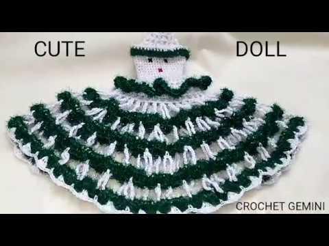Crochet Doll Dress Doll Pattern Crochet Doll Frock Doll Making
