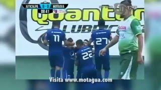 Doblete de Israel SiIlva ante Juticalpa FC