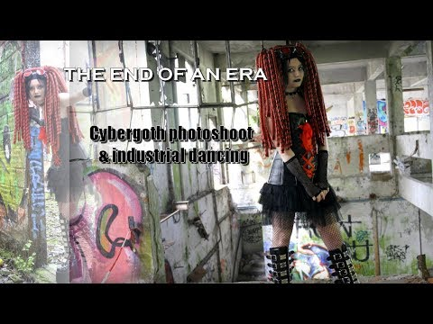 The End of an Era - Cybergoth shooting & industrial dance