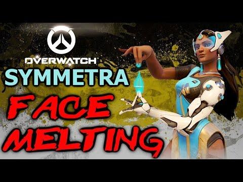 Symmetra is Bae - Overwatch Symmetra Tips and Tricks (Symmetra Gameplay)