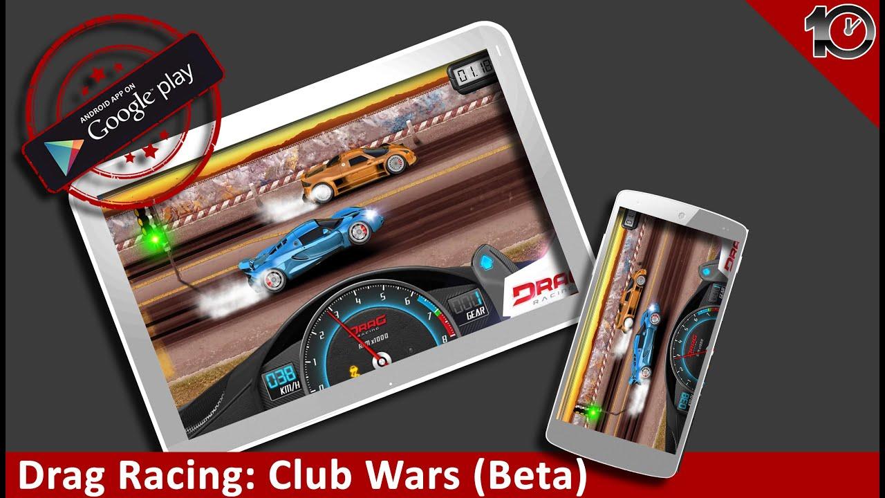 drag racing club wars mod apk unlimited money