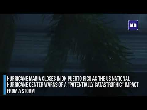 Hurricane Maria winds lash Puerto Rico