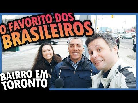 TOUR EM UM DOS BAIRROS FAVORITOS DOS BRASILEIROS EM TORONTO, NORTH YORK - BAIRROS NO CANADÁ #2
