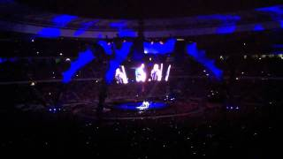 Bono Compares U2 Band Members To Wild Animals - Concert in Cape Town 360 tour