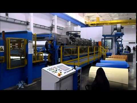 bronx international compact colour coating line youtube