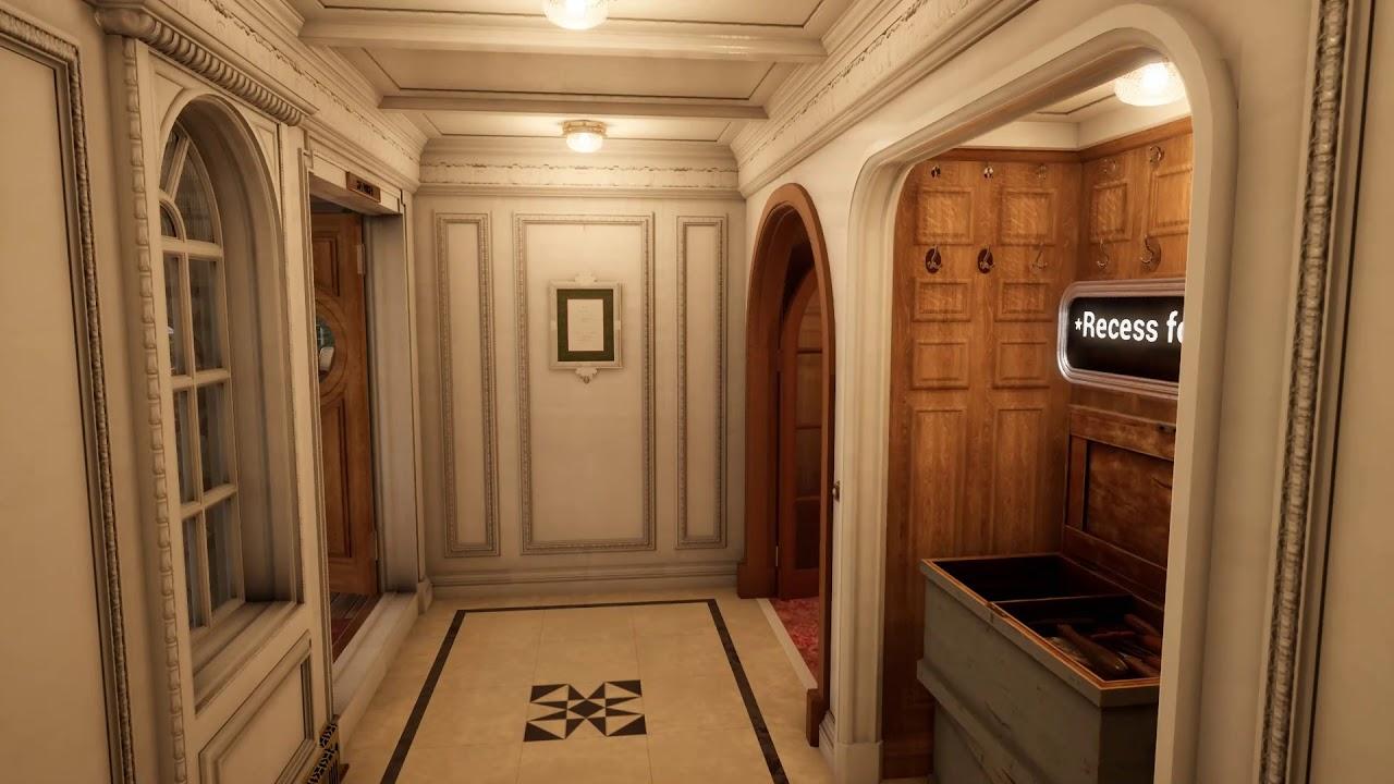 Titanic Honor & Glory Demo Pt.20 Exploring B Deck & A Deck Cabins, Cafe  Parisien