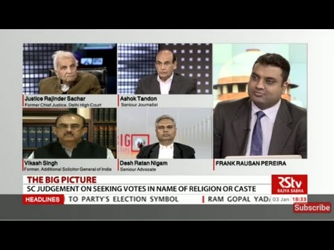 The Big Picture -  Supreme Court on politics of caste and religion