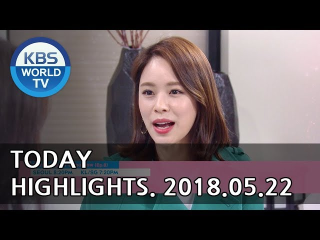 Today Highlights-Mysterious Personal ShopperE57/Sunny Again TomorrowE8/1N Sleepover Trip[2018.05.22]
