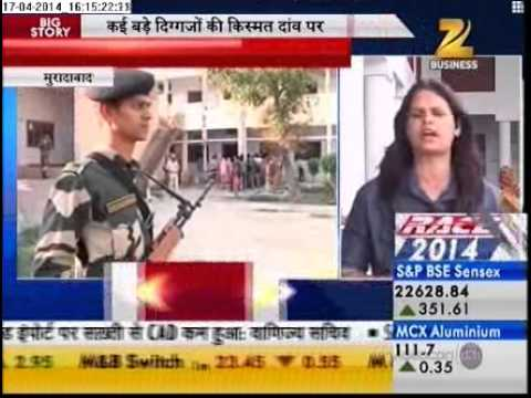ZEE BUSINESS : MORADABAD ELECTION : SHILPA PUNDIR