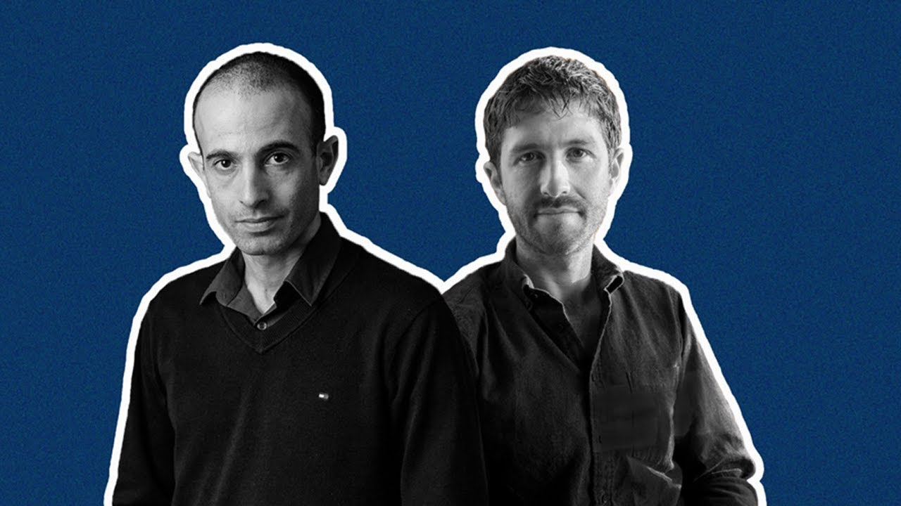 Yuval Noah Harari and Tristan Harris interviewed by Wired