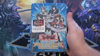 Yugioh GX Duelist Pack Collection Tin 2008 Opening - Duelist Pack Zane, Jaden, Chazz, & Aster