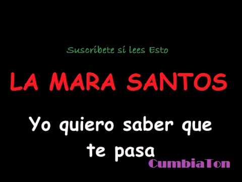 YO QUIERO SABER QUE TE PASA (CON LETRA) - LA MARA SANTOS FT. NENE MALO 2016